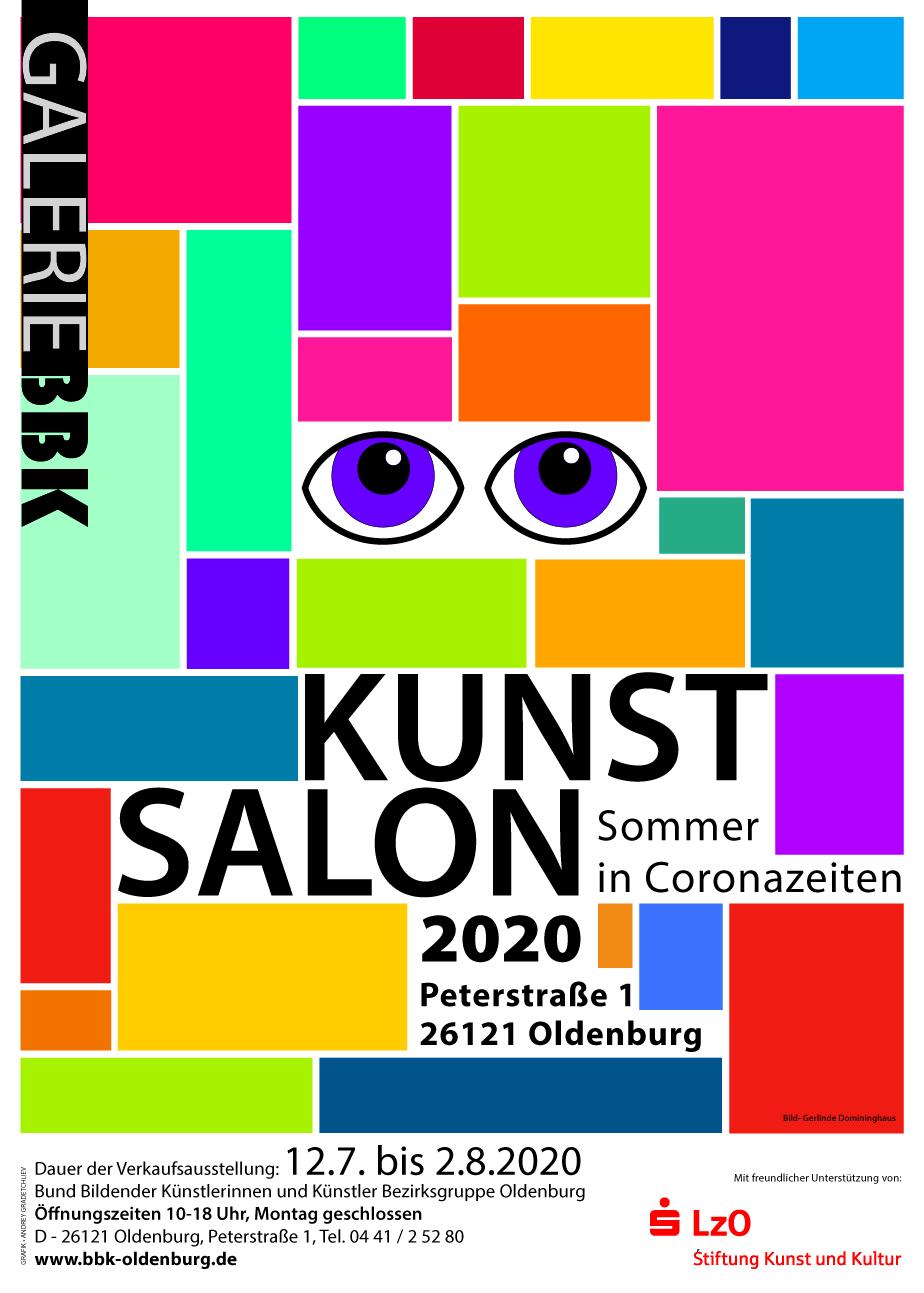 Eine tolle Aktion des BBK Oldenburg. Mehr als 35 Arbeiten von KünstlerInnen verkauft!